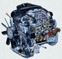 Двигатель M112 E24