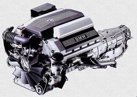 Двигатель M60B30