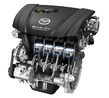 Двигатель SkyActiv-G 2.0