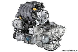 Двигатель HR16DE/H4M