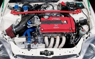 Двигатель Honda B16A B16B