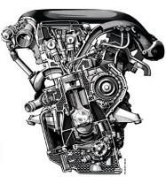 Двигатель Mercedes OM604