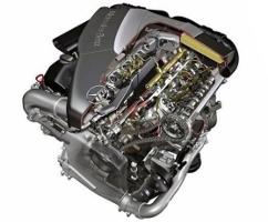 Двигатель Mercedes OM628