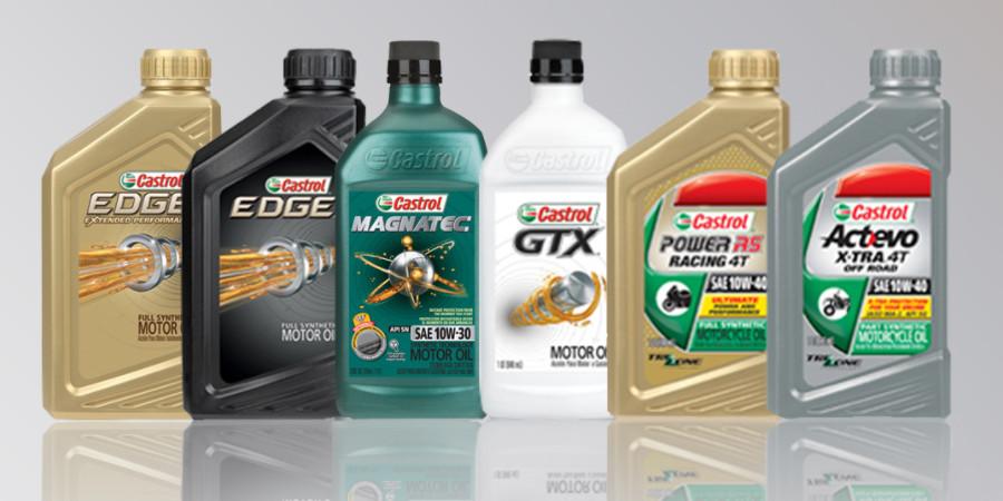 Подбор масла Castrol по марке автомобиля