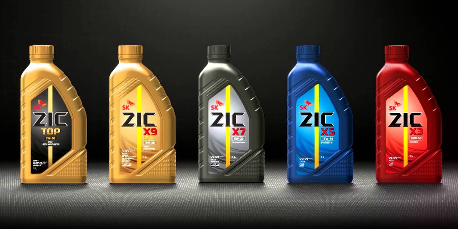 Подбор масла ZIC по марке автомобиля
