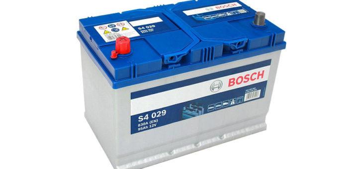 Аккумулятор Bosch S4 Silver
