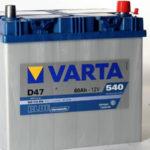 Аккумулятор Varta Blue Dynamic D47