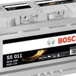 Аккумулятор Bosch S5 Silver Plus