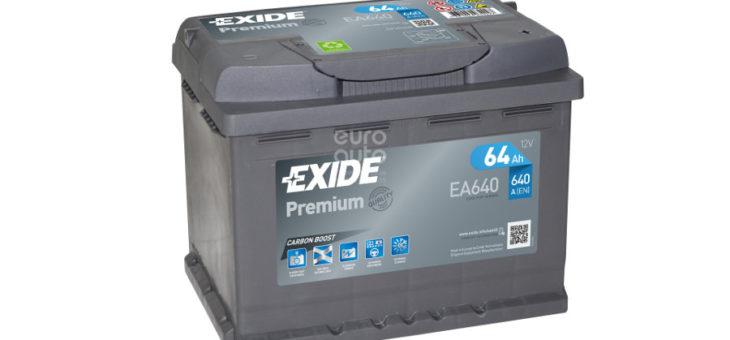 Аккумулятор Exide Premium EA640