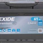 Аккумулятор Exide EA612