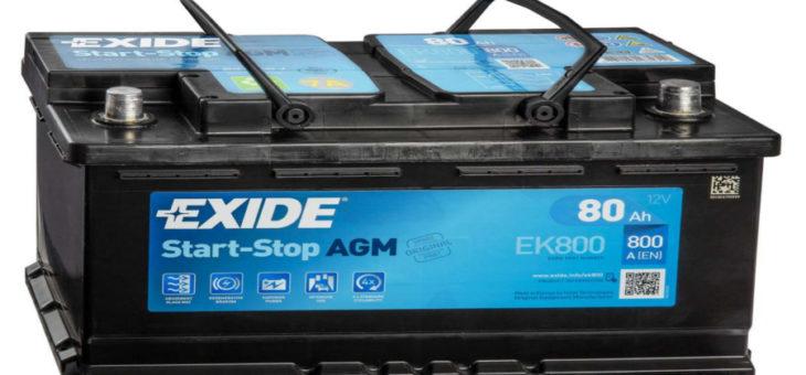 Аккумулятор Exide EK800 AGM