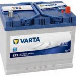 Аккумулятор Varta Blue Dynamic E23