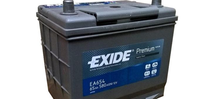 Аккумулятор Exide Premium EA654