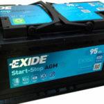 Аккумулятор Exide AGM EK950