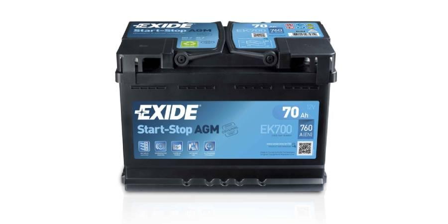 Аккумулятор Exide AGM EK700
